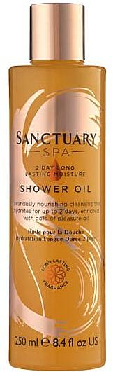 Aceite de ducha con aguacate para pieles sensibles - Sanctuary Spa 2 Day Long Lasting Moisture Shower Oil — imagen N1