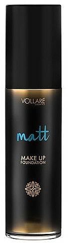Base de maquillaje de larga duración con efecto mate - Vollare Matt Make-up Foundation