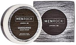 Perfumería y cosmética Crema de afeitar con aroma a sándalo - Men Rock Sandalwood Shave Cream