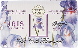 Perfumería y cosmética Jabón natural con aroma a iris - Nesti Dante Dei Colli Fiorentini Soap