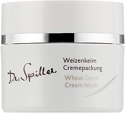 Perfumería y cosmética Mascarilla crema facial con aceite de germen de trigo - Dr. Spiller Wheat Germ Cream Mask