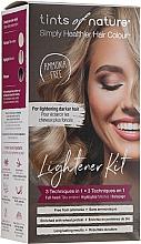 Perfumería y cosmética Kit de aclaración permanente de cabello con karité y proteínas de trigo - Tints Of Nature Lightener Medium Brown To Blonde