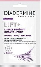 Perfumería y cosmética Mascarilla facial antiarrugas, alisado inmediato enriquecida con procolágeno - Diadermine Lift+ Instant Lifting Tissue Mask