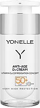 Perfumería y cosmética Crema facial antiedad con ácido hialurónico y pantenol - Yonelle Anti-Age D3 Cream SPF50+