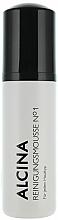 Perfumería y cosmética Espuma de limpieza facial con ácido láctico - Alcina №1 Cleansing Mousse