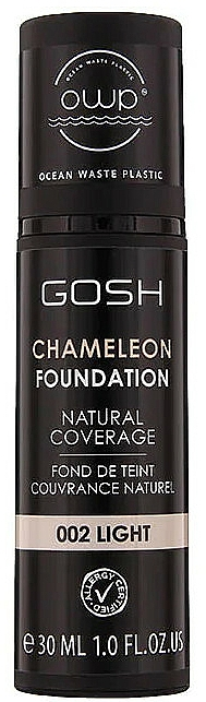 Base de maquillaje con cápsulas de pigmentos inteligentes - Gosh Chameleon Foundation