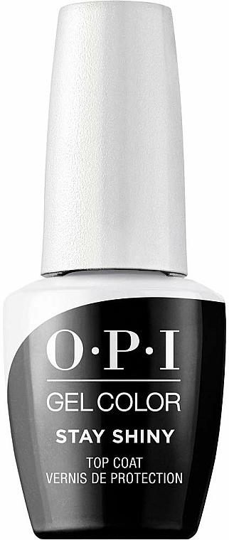Top coat gel, LED - O.P.I. Gel Stay Shiny Top Coat