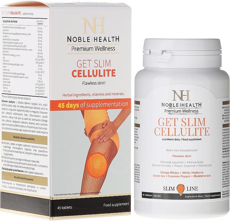 Complemento alimenticio anticelulítico - Noble Health Get Slim Cellulite
