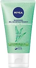 Perfumería y cosmética Gel de limpieza facial con extracto de algas marinas - Nivea Aqua Effect