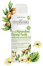 Perfumería y cosmética Aceite reparador de argán y hamamelis para puntas abiertas - MaterNatura