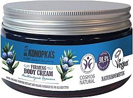 Perfumería y cosmética Crema corporal reafirmante con extracto orgánico de enebro y aceite orgánico de romero - Dr. Konopka's Firming Body Cream