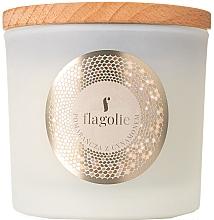 Perfumería y cosmética Vela perfumada de soja con aroma a canela y naranja - Flagolie Fragranced Candle Orange & Cinnamon