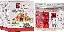 Exfoliante corporal de azúcar con manteca de karité y aceite de arándano - GoCranberry — imagen N1