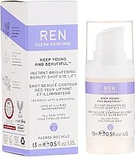 Perfumería y cosmética Gel sérum facial con extracto de rosa damascena - Ren Keep Young And Beautiful