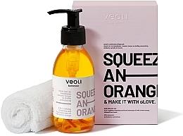 Perfumería y cosmética Set facial - Veoli Botanica Squeeze An Orange (aceite/132.7g + toalla/1 ud.)
