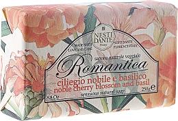 Perfumería y cosmética Jabón con aroma a flor de cerezo y albahaca - Nesti Dante Romantica Soap