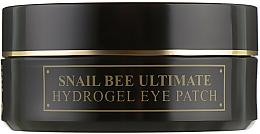 Perfumería y cosmética Parches de hidrogel para contorno de ojos con baba de caracol y veneno de abeja - Benton Snail Bee Ultimate Hydrogel Eye Patch