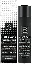 Perfumería y cosmética Bálsamo aftershave hidratante con propóleo y extracto de hierba de San Juan - Apivita Men Men's Care After Shave Balm With Hypericum & Propolis