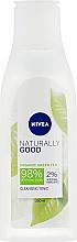 Perfumería y cosmética Tónico limpiador facial con té verde - Nivea Naturally Good Cleansing Refreshing Toner