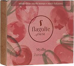 Perfumería y cosmética Jabón natural con aroma a arándano - Flagolie by Paese Cranberry