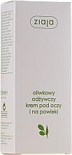Perfumería y cosmética Crema nutritiva para contorno de ojos con extracto de oliva - Ziaja Natural Olive Eye Cream