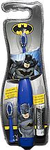 Perfumería y cosmética Cepillo de dientes eléctrico, con pila y cabezal de respuesto - Lorenay Batman Cartoon Tooth Brush