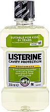 Perfumería y cosmética Enjuague bucal antibacteriano con ligero sabor a menta - Listerine Cavity Protection Mouthwash