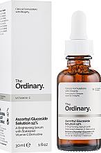 Perfumería y cosmética Sérum iluminador facial con vitamin C - The Ordinary Ascorbyl Glucoside Solution 12%