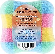 Perfumería y cosmética Esponja de baño, cuadrado, 30482, multicolor - Top Choice