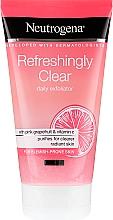 Perfumería y cosmética Exfoliante facial con pomelo rosado y vitamina C - Neutrogena Refreshingly Clear Daily Exfoliator