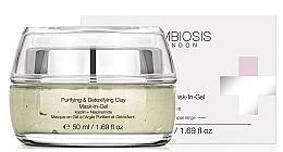 Perfumería y cosmética Mascarilla gel facial detoxificante con arcilla caolín y niacinamidas - Symbiosis London Purifying & Detoxifying Clay Mask-In-Gel