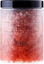 Perfumería y cosmética Sales de baño natural del Himalaya con aromas de ylang ylang y bergamota - Hagi Bath Salt
