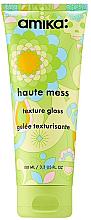 Perfumería y cosmética Gel texturizante para cabello con extracto de miel - Amika Haute Mess Texture Gloss Gel