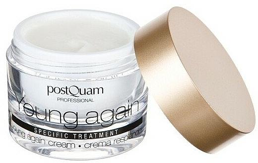 Crema rejuvenecedora para rostro y cuello con aceite de jojoba, aloe vera y alantoína - PostQuam Young Again Cream — imagen N4