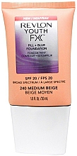 Perfumería y cosmética Base de maquillaje - Revlon Youth FX Fill+Blur Foundation SPF20