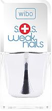 Perfumería y cosmética Fortalecedor de uñas severamente dañadas - Wibo S.O.S. Weak Nails