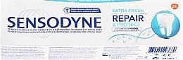 Perfumería y cosmética Pasta dental con glicerina - Sensodyne Repair&Protect Extra Fresh