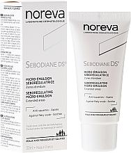 Perfumería y cosmética Emulsión reguladora de sebo para cuero cabelludo, pieles sensibles e irritadas con escamas. - Noreva Sebodiane DS Sebum-Regulating Micro-Emulsion0