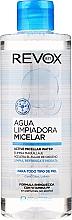 Perfumería y cosmética Agua micelar con vitamina PP, sin alcohol, ni perfume - Revox Aqua Limpiadora Micellar