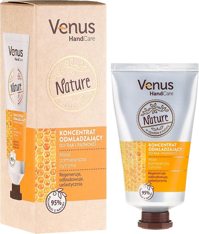 Crema de manos antipolución con extractos de miel, limón y naranja - Venus Nature