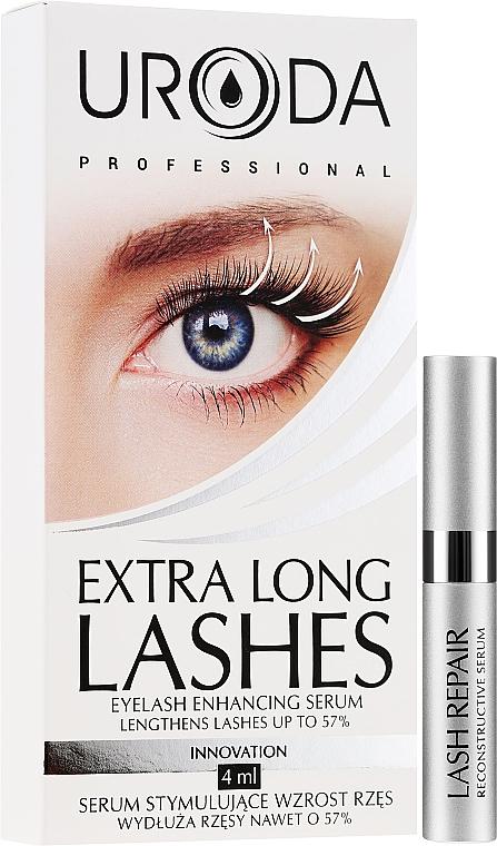 Sérum para crecimiento de pestañas con extracto de calabaza - Uroda Professional Extra Long Lashes Enhancing Serum