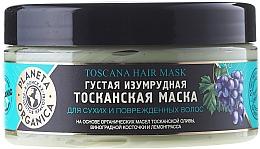 Perfumería y cosmética Mascarilla capilar orgánica con aceite de oliva y limoncillo - Planeta Organica Toscana Hair Mask