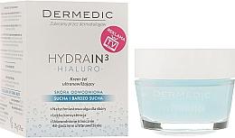 Perfumería y cosmética Crema-gel facial hidratante con urea y glicerina - Dermedic Hydrain3 Hialuro