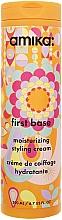Perfumería y cosmética Crema de peinado hidratante con extracto de espino amarillo - Amika First Base Moisturizing Styling Cream