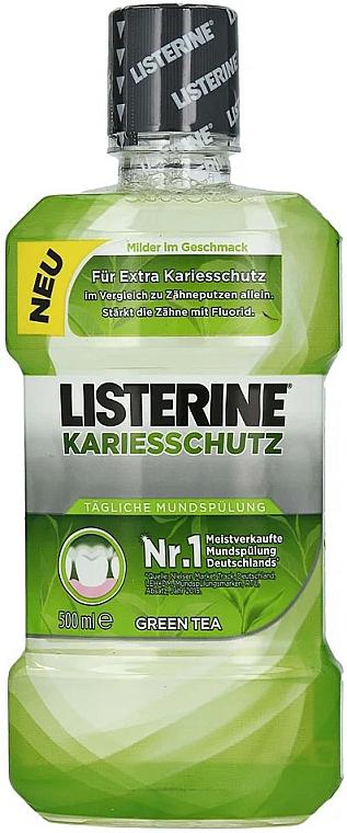 Enjuague bucal anticaries con extracto de té verde - Listerine Caries Protection Mouthwash