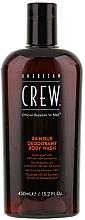 Perfumería y cosmética Gel de ducha con aceite de menta y árbol de té - American Crew Classic 24-Hour Deodorant Body Wash