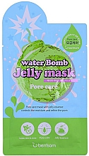 Perfumería y cosmética Mascarilla facial de gelatina con extracto de menta y lima - Berrisom Water Bomb Jelly Mask Pore Care