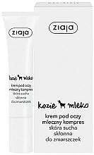 Perfumería y cosmética Crema contorno de ojos con leche de cabra - Ziaja Cream For Skin Around The Eyes