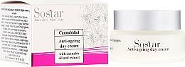Perfumería y cosmética Crema de día antiedad con aceite y extracto de cáñamo - Sostar Cannabidiol Anti Ageing Day Cream With Cannabis Extract