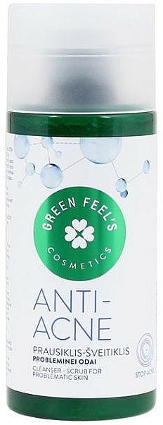 Exfoliante facial antiacné con extracto de aloe vera - Green Feel's Anti Acne Cleancer Scrub